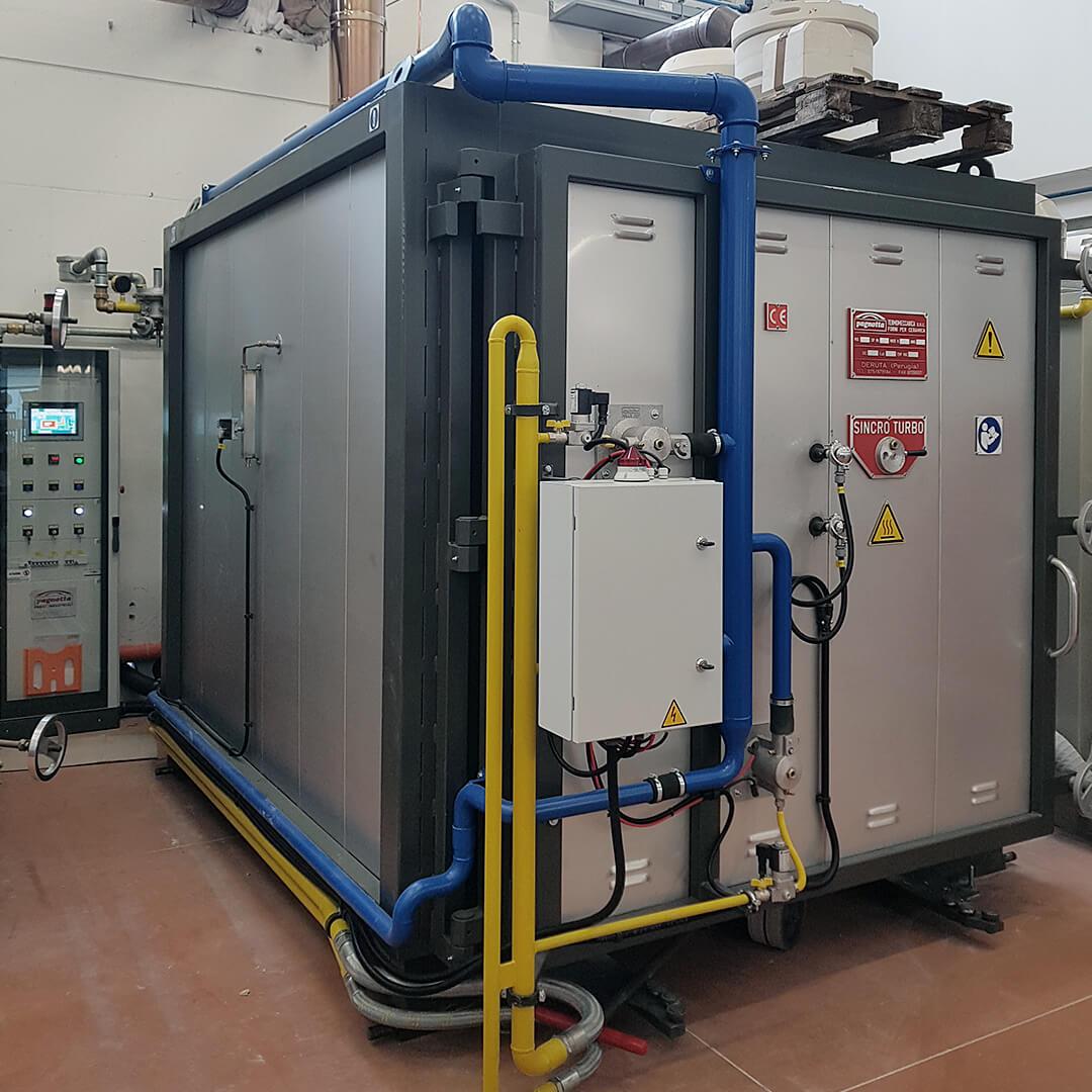 Forno industriale per Forno intermittente 1380°C | Pagnotta Termomeccanica