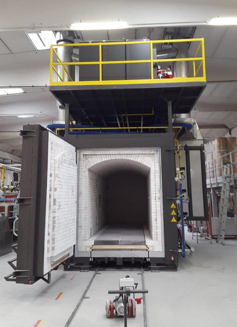 Forno industriale per Forno intermittente per 1500°C   Pagnotta Termomeccanica