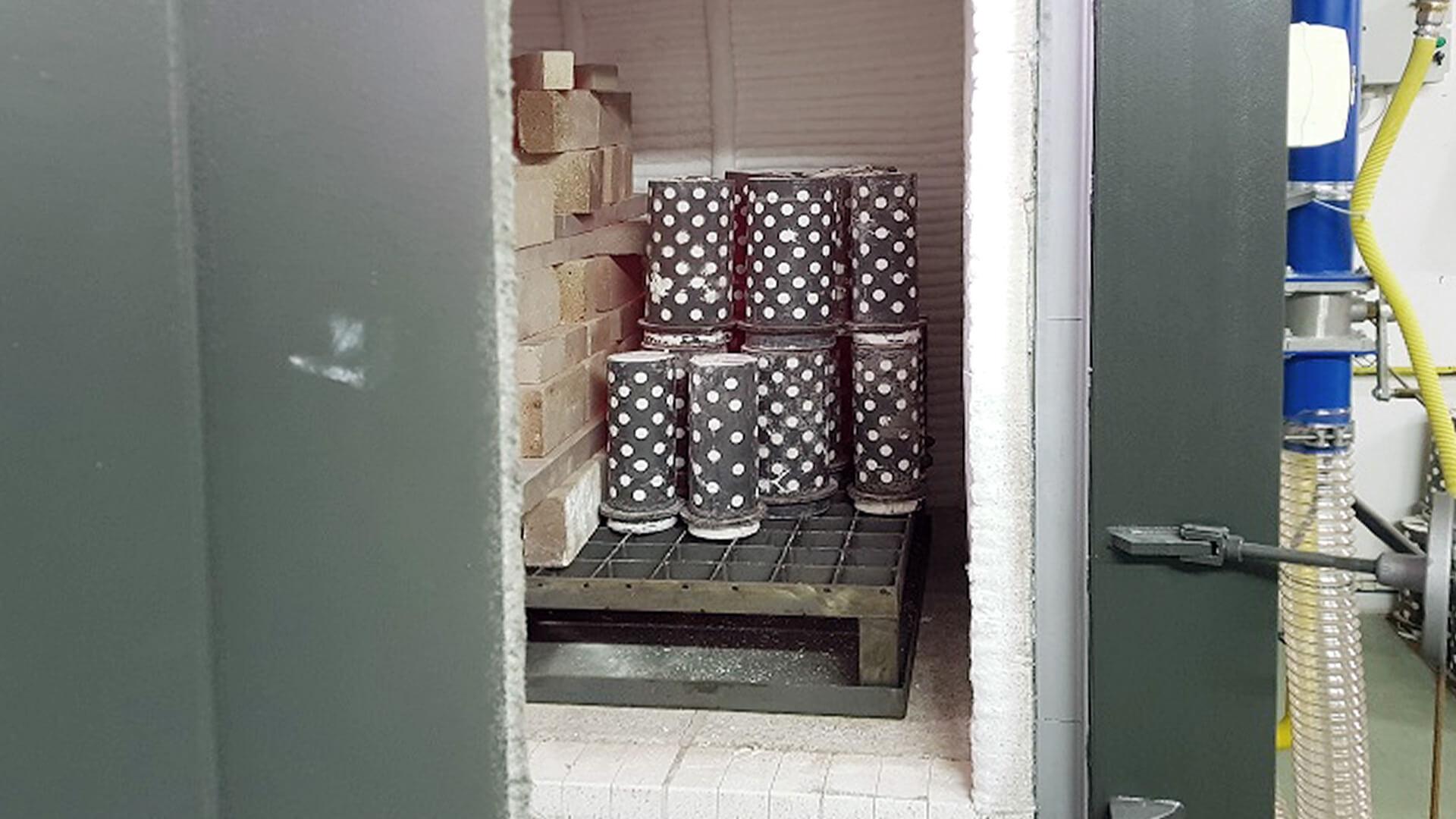 Forno industriale per Forno per cotture a cera persa | Pagnotta Termomeccanica