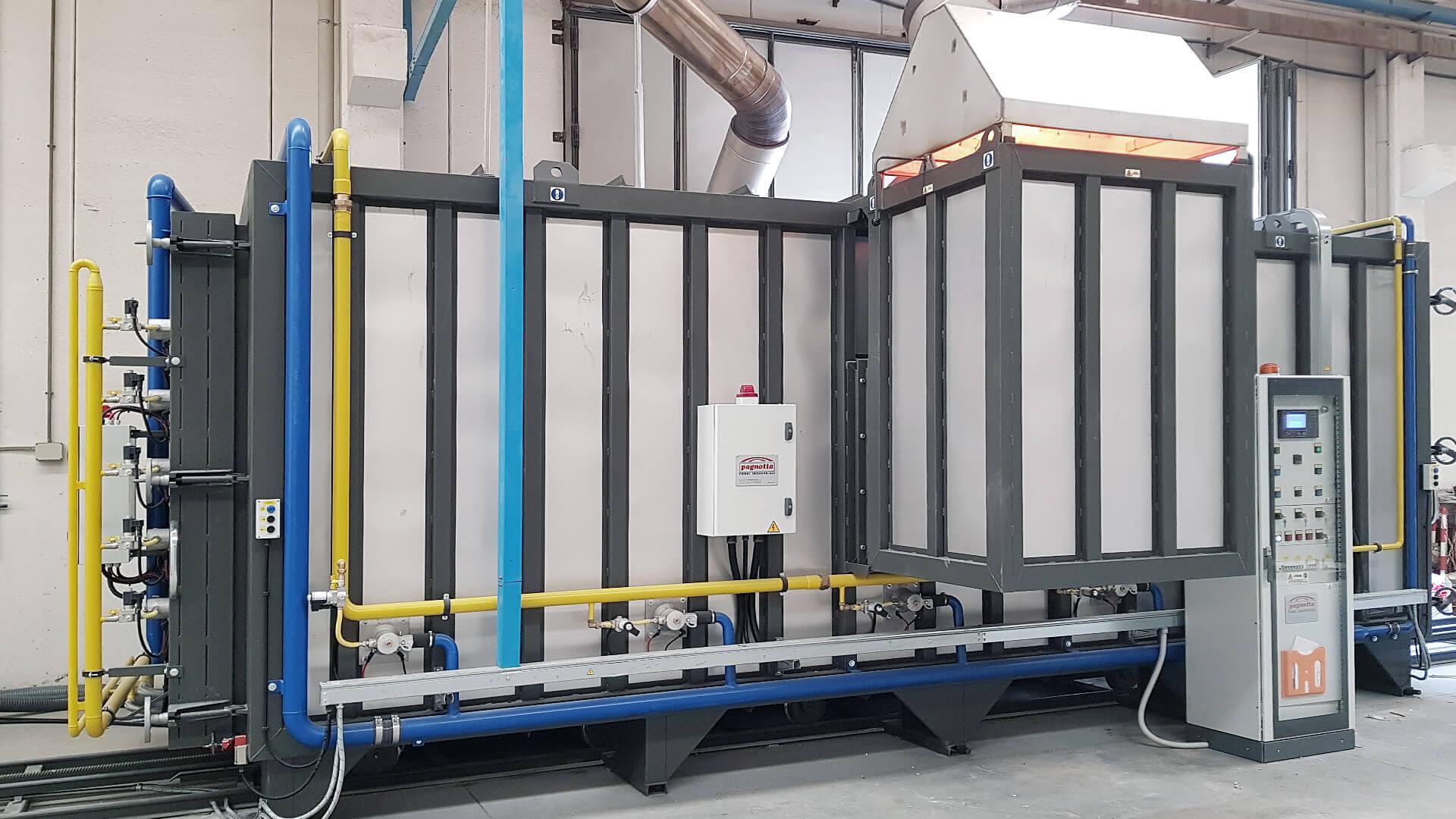 Forno industriale per Forno intermittente per 1380°C | Pagnotta Termomeccanica