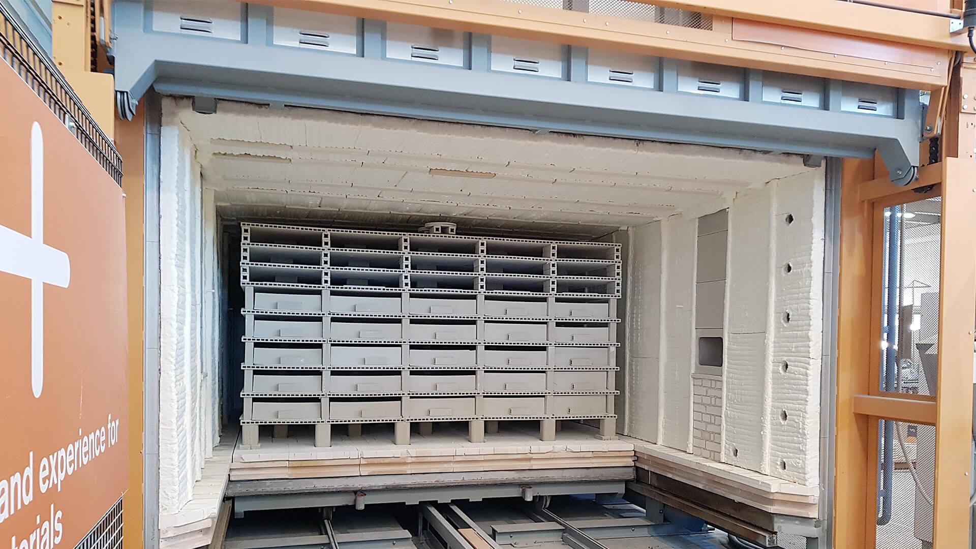 Forno industriale per Forno con porta automatica a ghigliottina   Pagnotta Termomeccanica