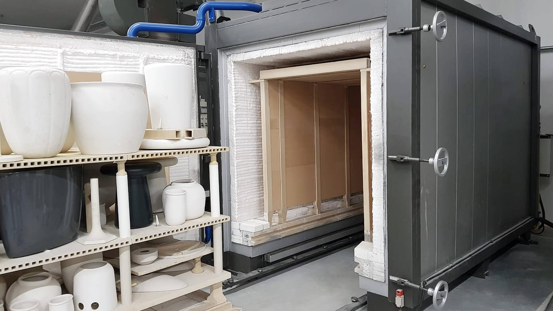Forno industriale per Forno muffolato a gas modello STM/BT   Pagnotta Termomeccanica