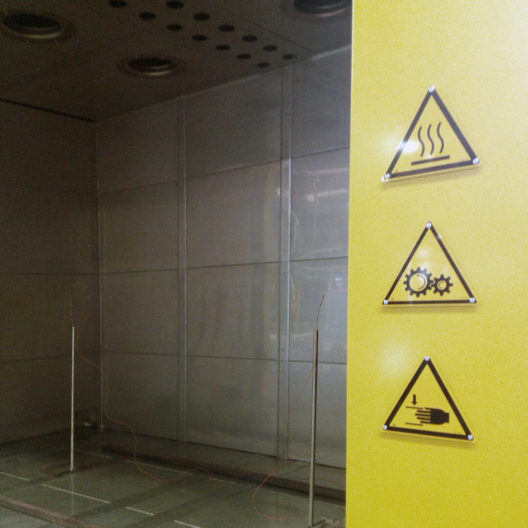 Forno industriale per Forno a circolazione forzata per ricottura di distensione vetro | Pagnotta Termomeccanica