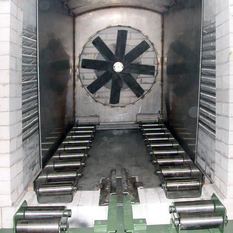 Muffola elettrica con circolazione d'aria forzata | Pagnotta Termomeccanica