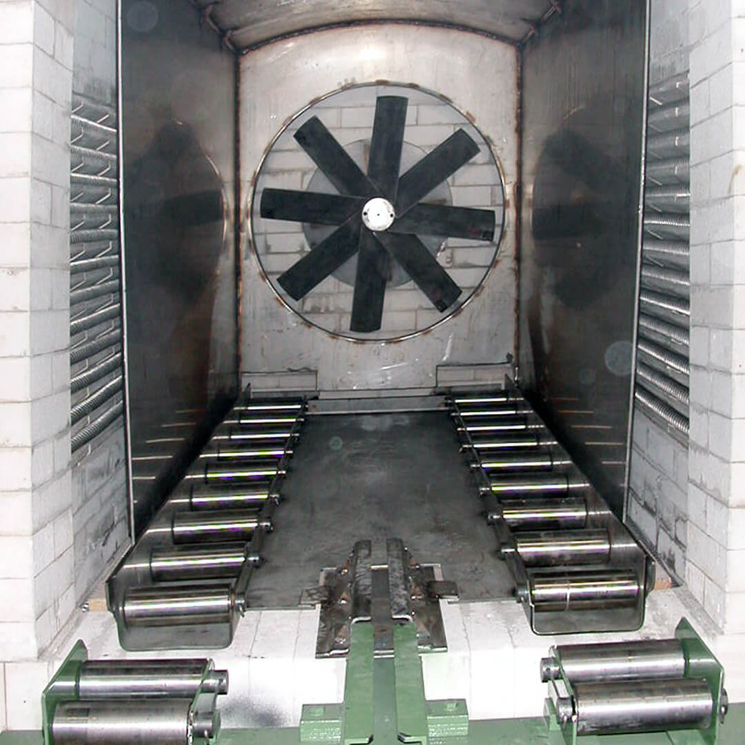 Forno industriale per Muffola elettrica con circolazione d'aria forzata | Pagnotta Termomeccanica