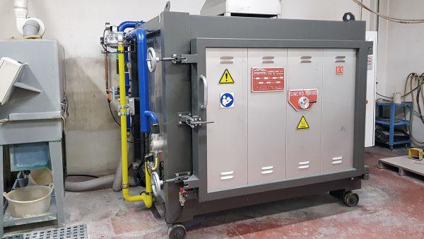Esterno forno 1100°C | Pagnotta Termomeccanica