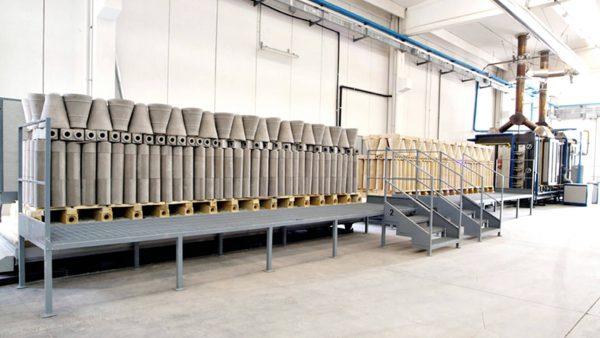 Forno per refrattari industria siderurgica | Pagnotta Termomeccanica