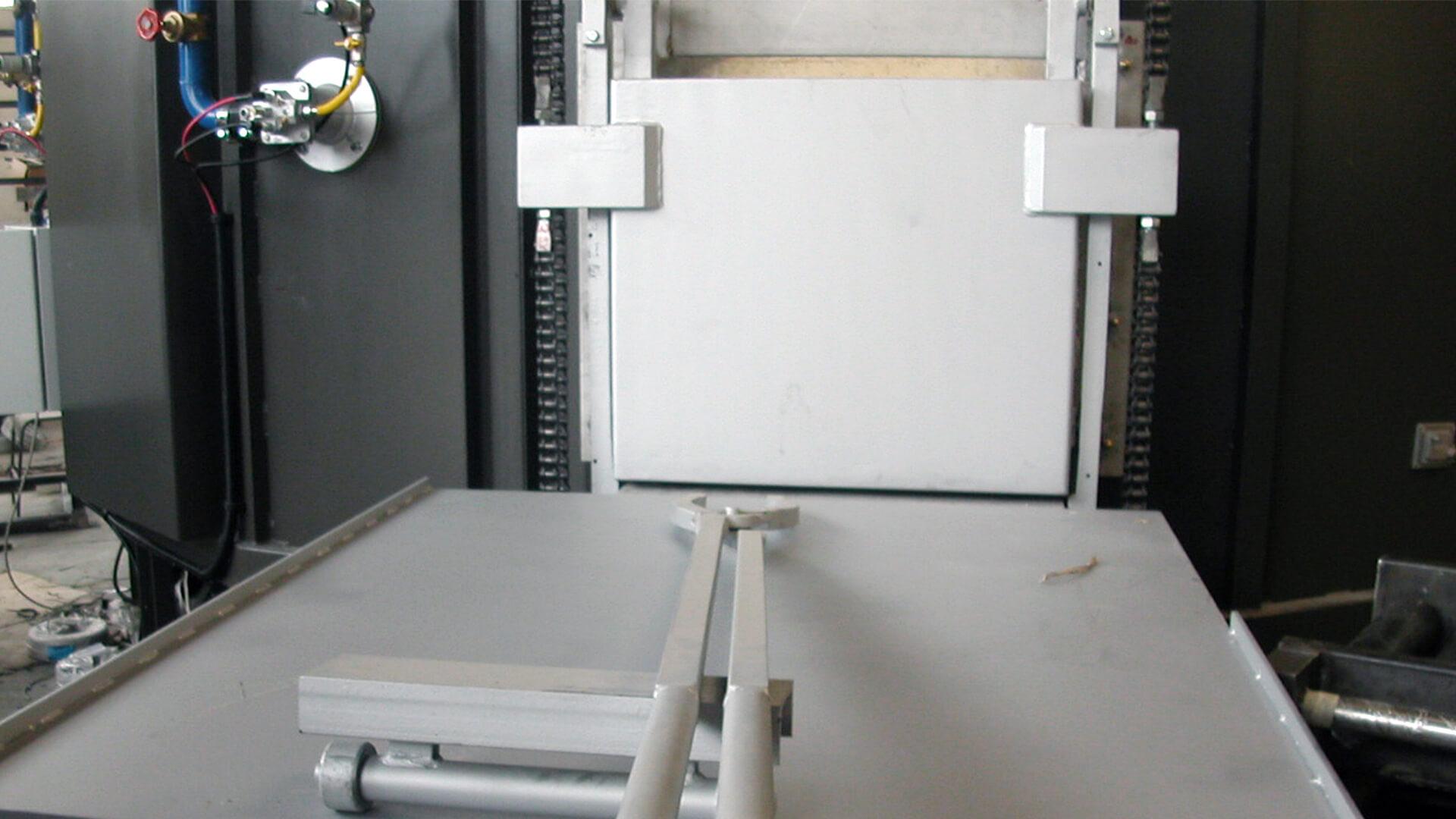 Forno industriale per Forno a suola rotante per forgia | Pagnotta Termomeccanica