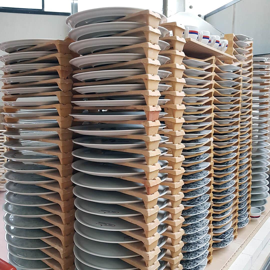 Forno industriale per Forno elettrico per decorazione a terzo fuoco | Pagnotta Termomeccanica