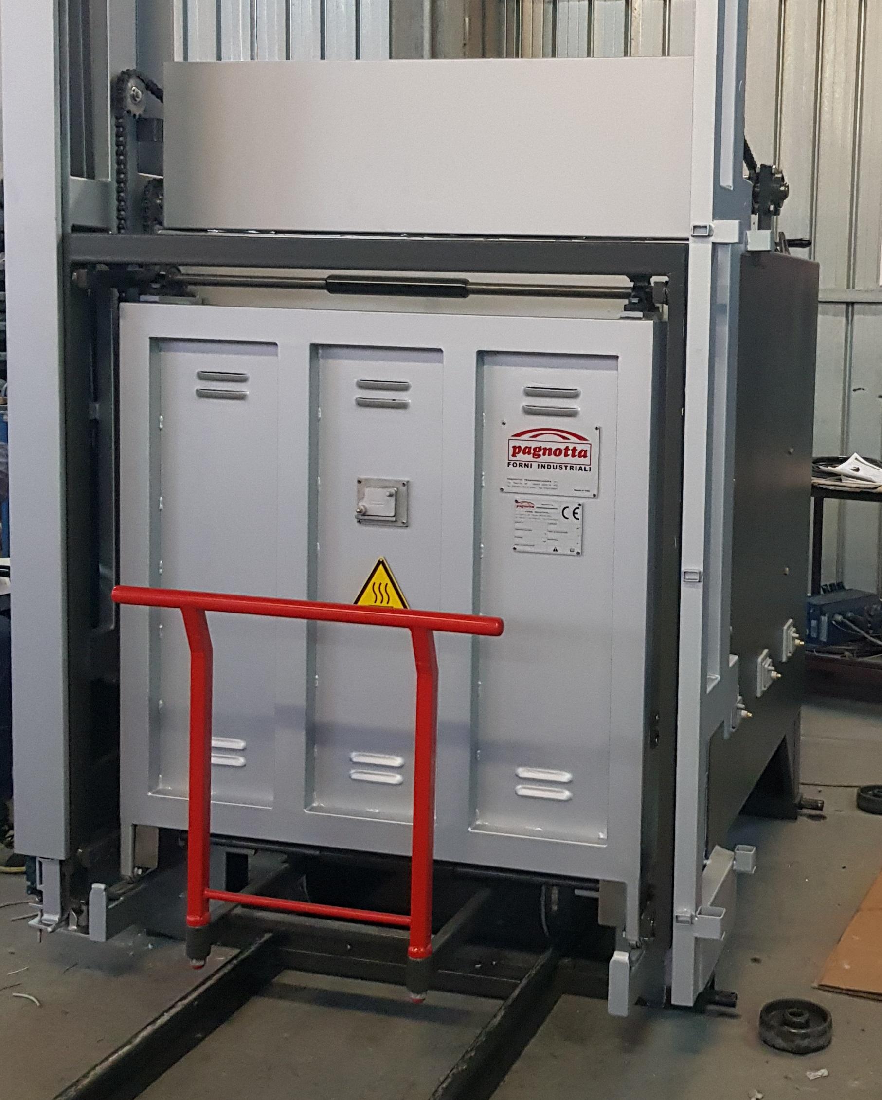 Forno industriale per Forno elettrico a carro con porta verticale a ghigliottina | Pagnotta Termomeccanica