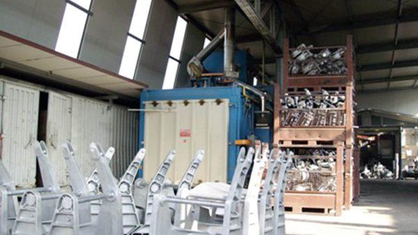 Forno da sterratura fusioni alluminio | Pagnotta Termomeccanica