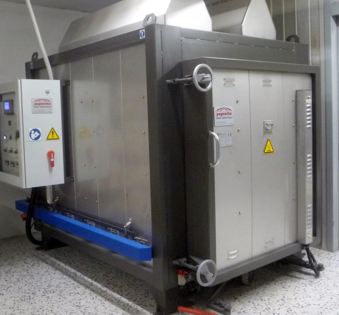 Forni per Glass Process | Pagnotta Termomeccanica