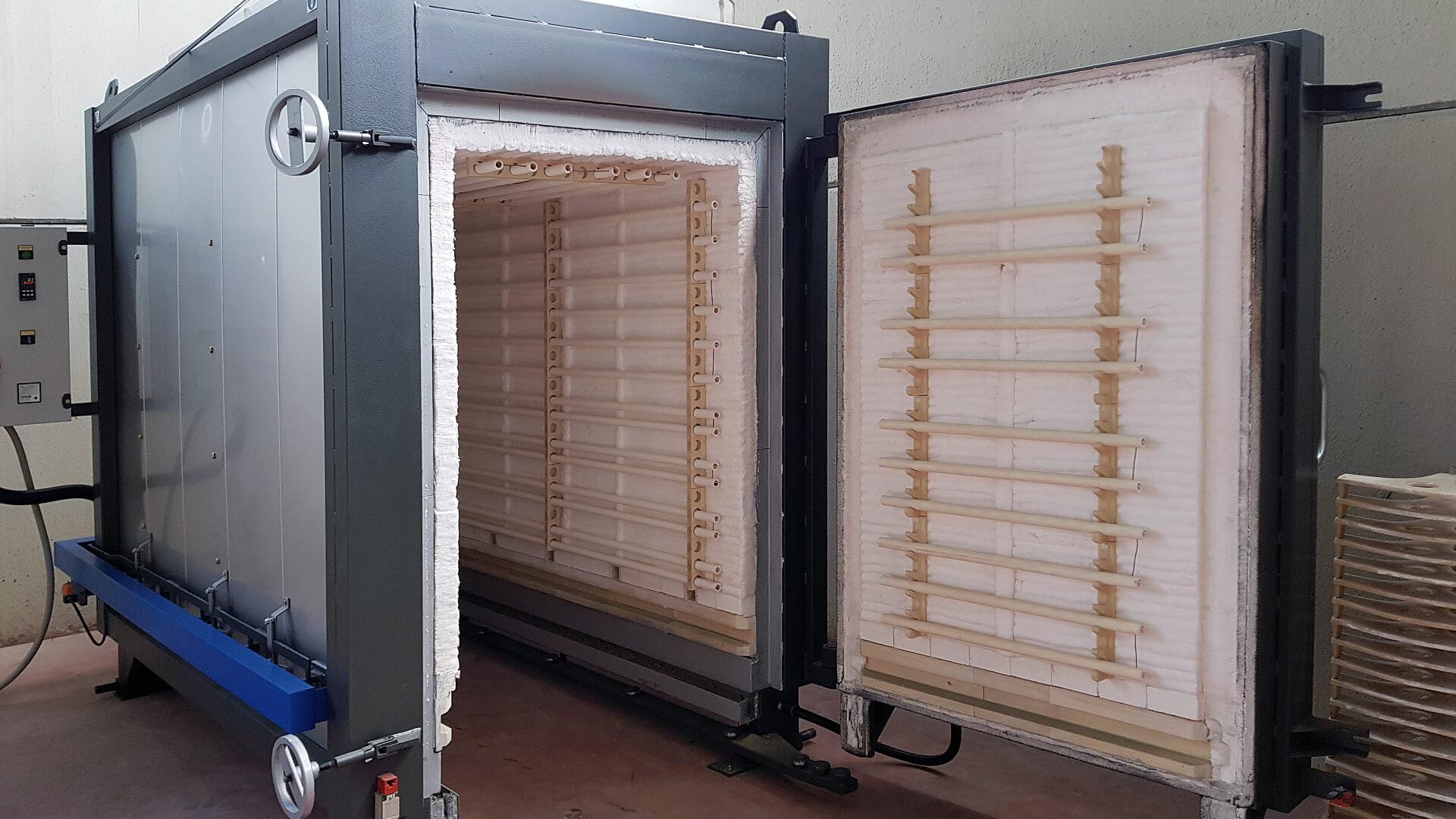 Forno industriale per Forno elettrico modello FFEC/BT | Pagnotta Termomeccanica