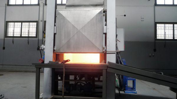Forno da forgia a 1350°C | Pagnotta Termomeccanica