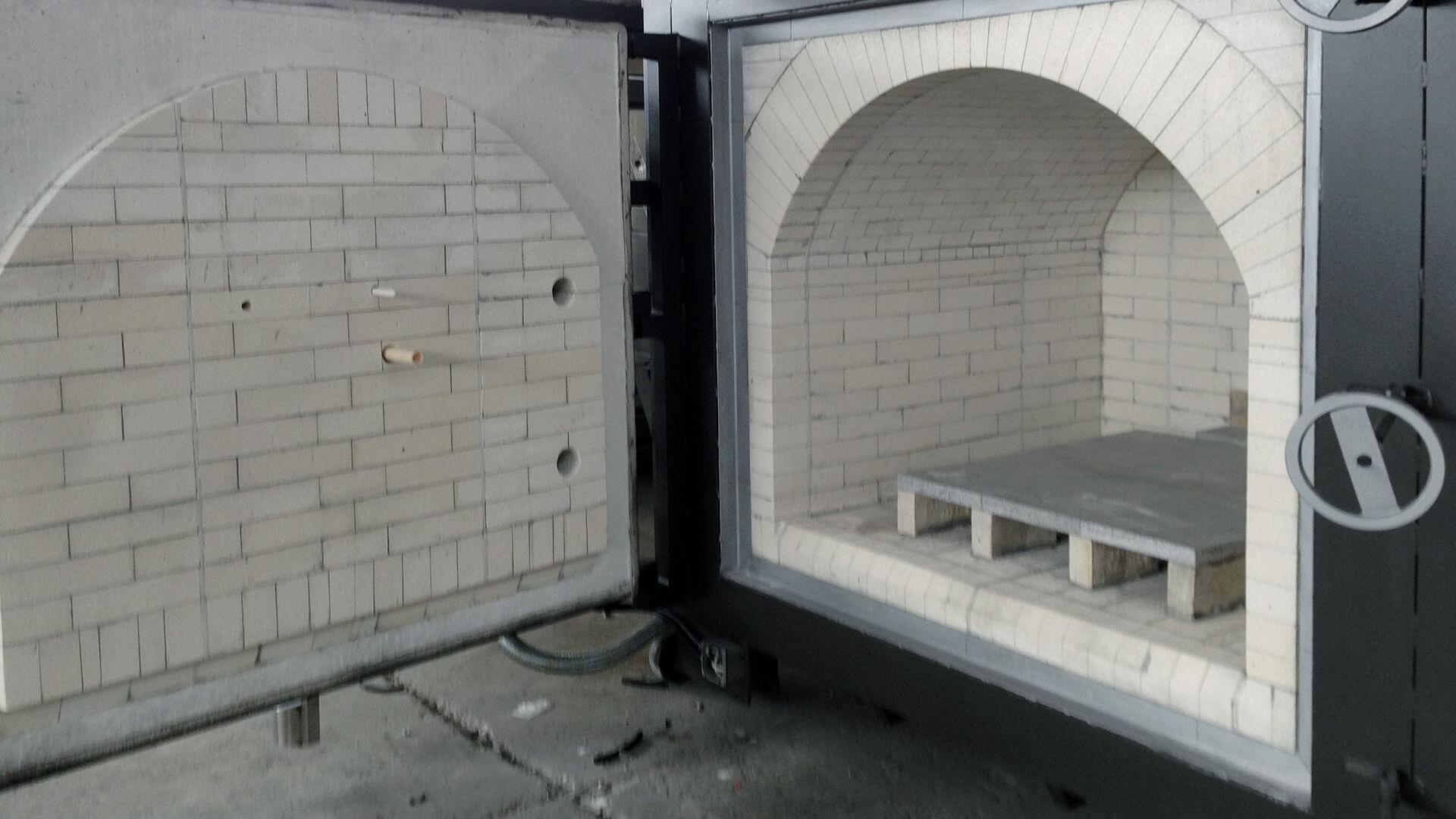 Forno industriale per Forno a camera per 1450°C | Pagnotta Termomeccanica