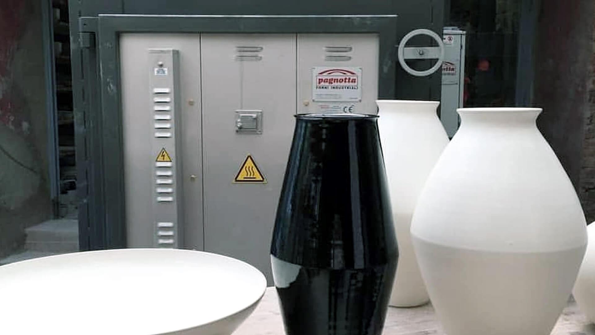 Forno industriale per Forno a gas per porcellane   Pagnotta Termomeccanica