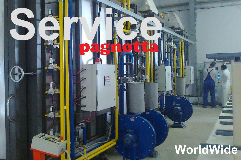 Assistenza tecnica forni industriali