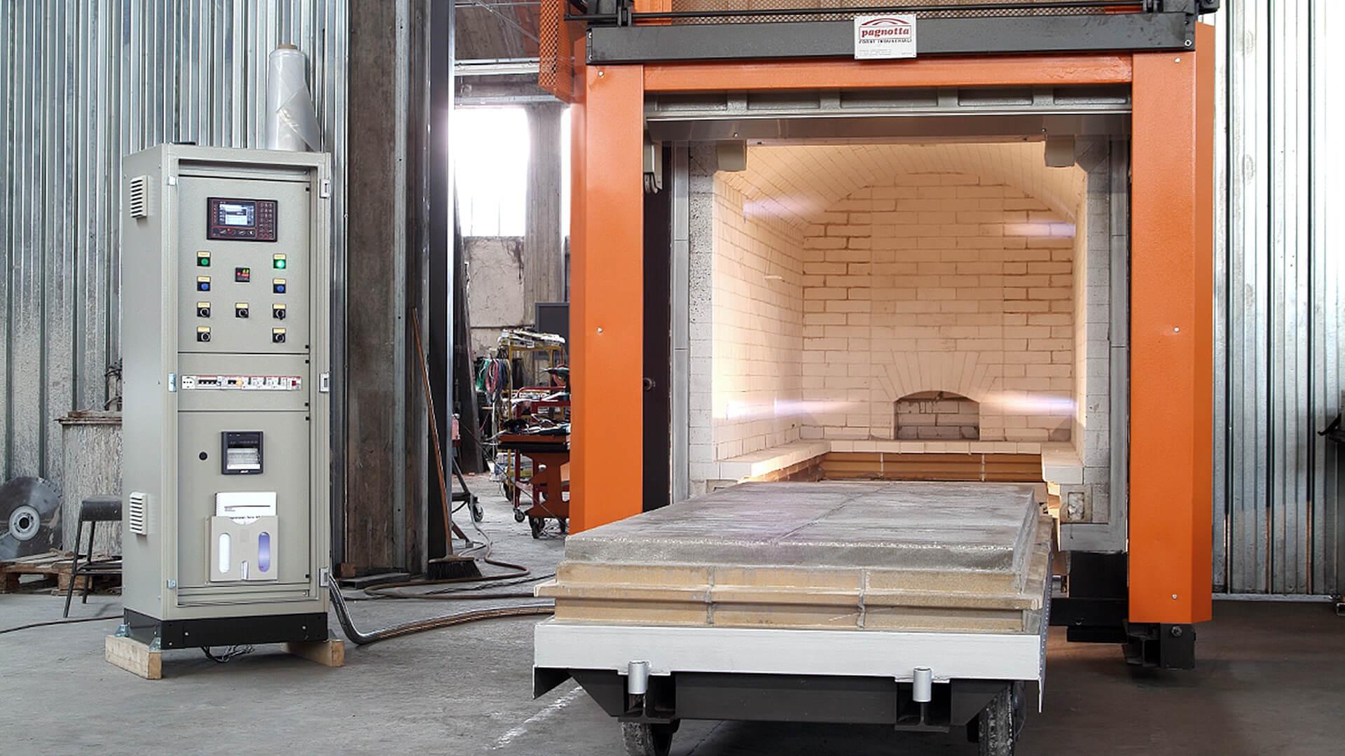 Forno industriale per Forno con porta verticale a ghigliottina | Pagnotta Termomeccanica
