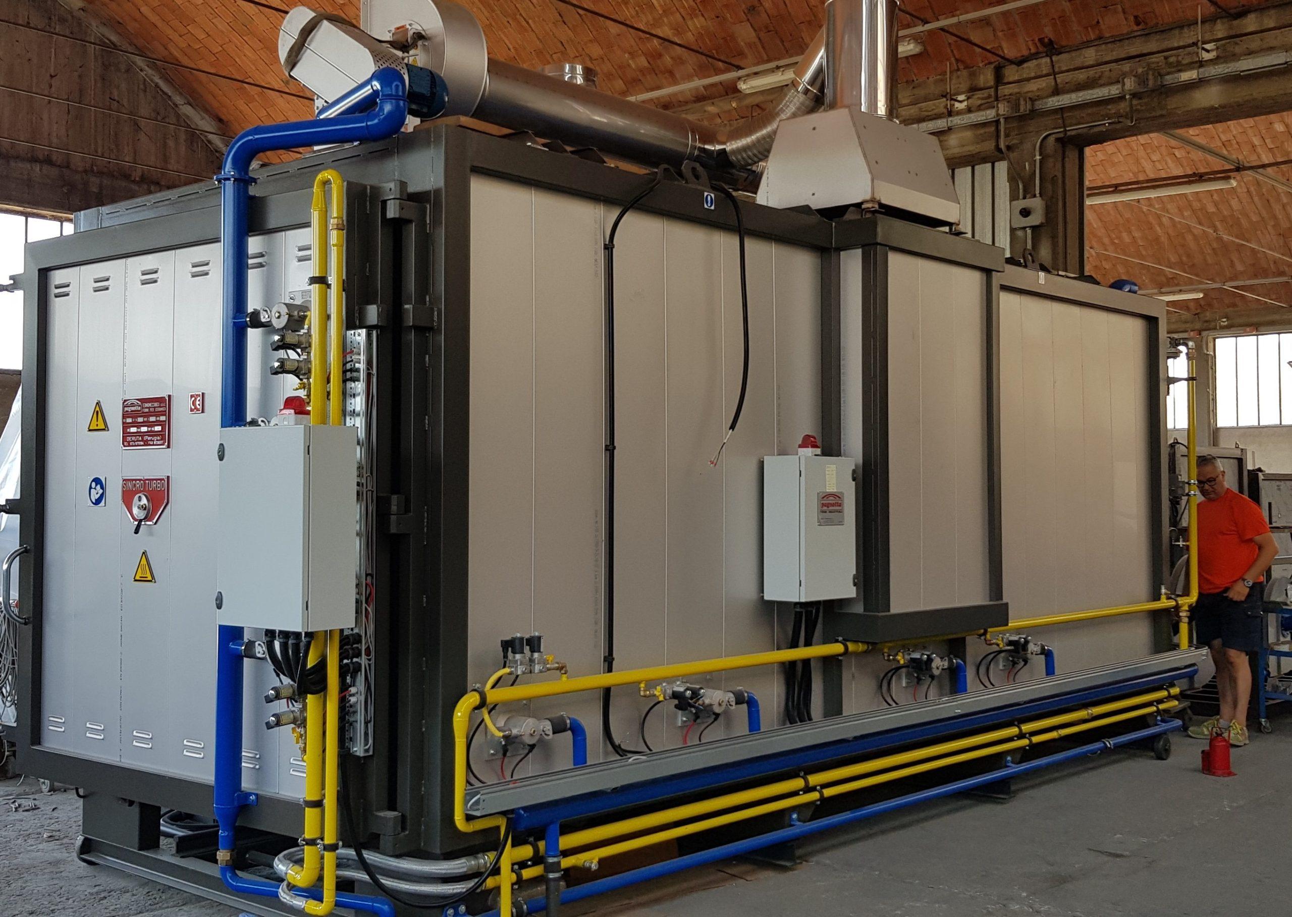 Forno industriale per Forno a gas in acciaio inox | Pagnotta Termomeccanica