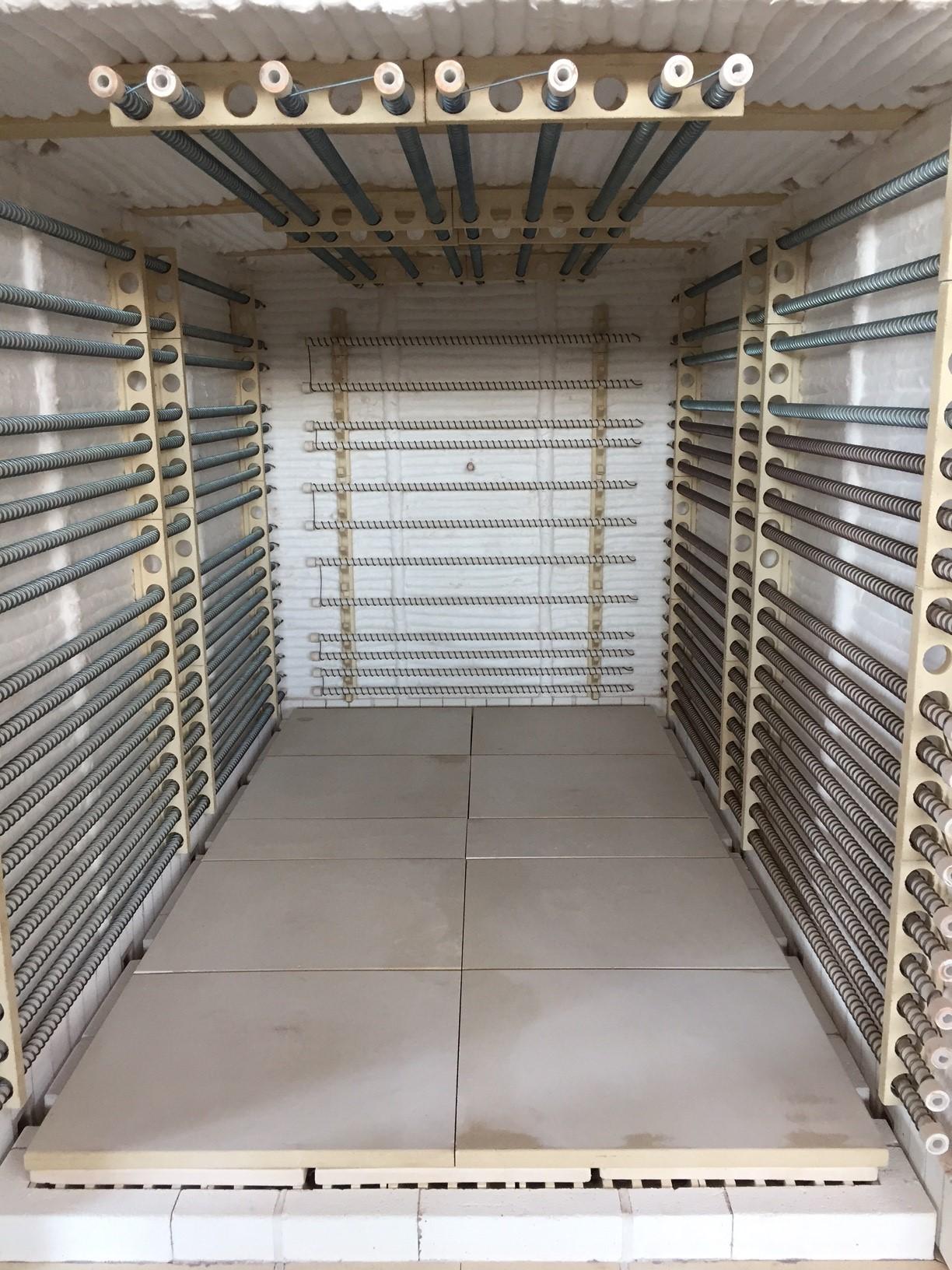 Forno industriale per Forno elettrico per vetro | Pagnotta Termomeccanica
