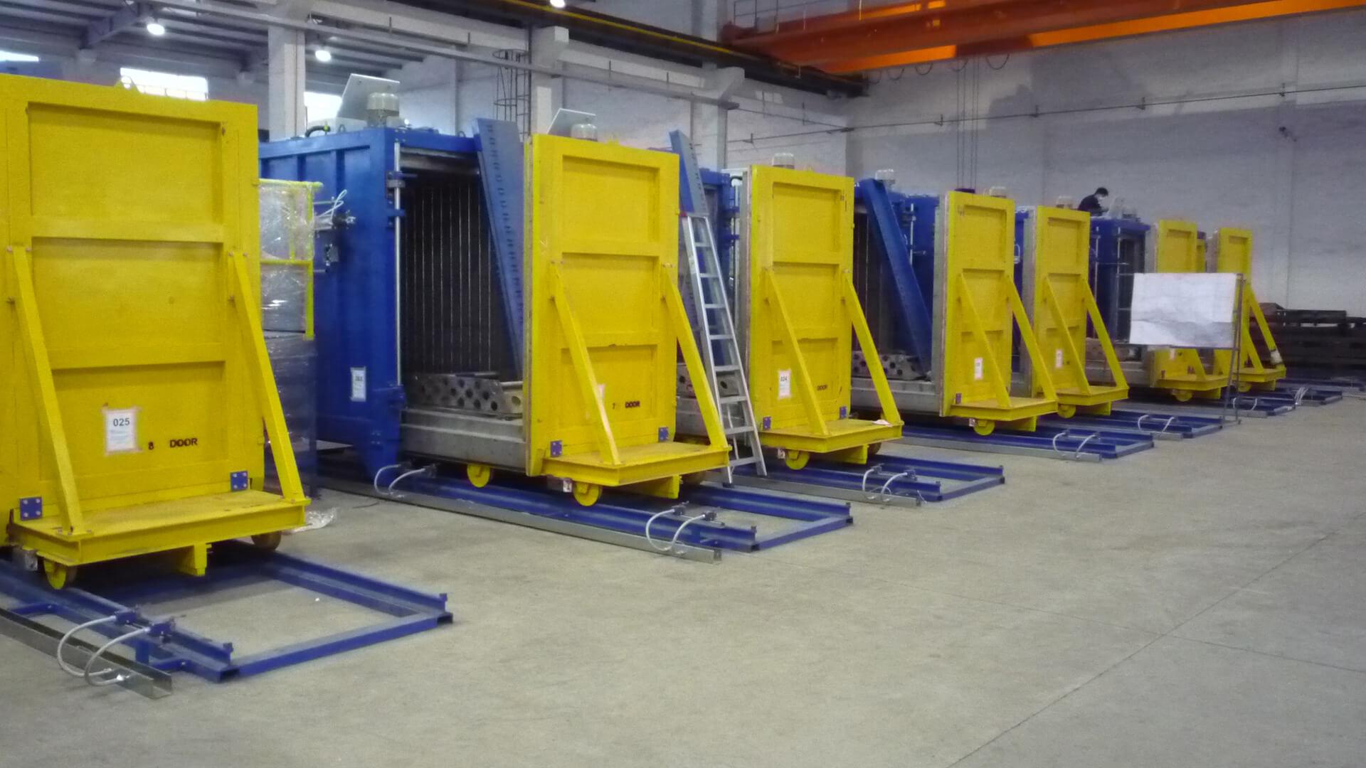 Forno industriale per Forni a circolazione forzata per preriscaldo matrici. Temperatura 600°C | Pagnotta Termomeccanica