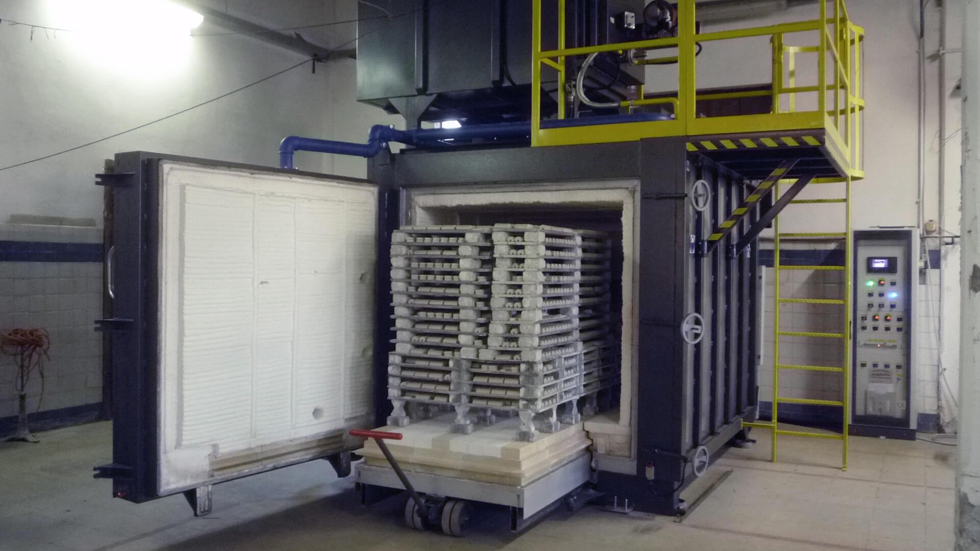 Forno industriale per Forno per ceramica tecnica 1350°C   Pagnotta Termomeccanica