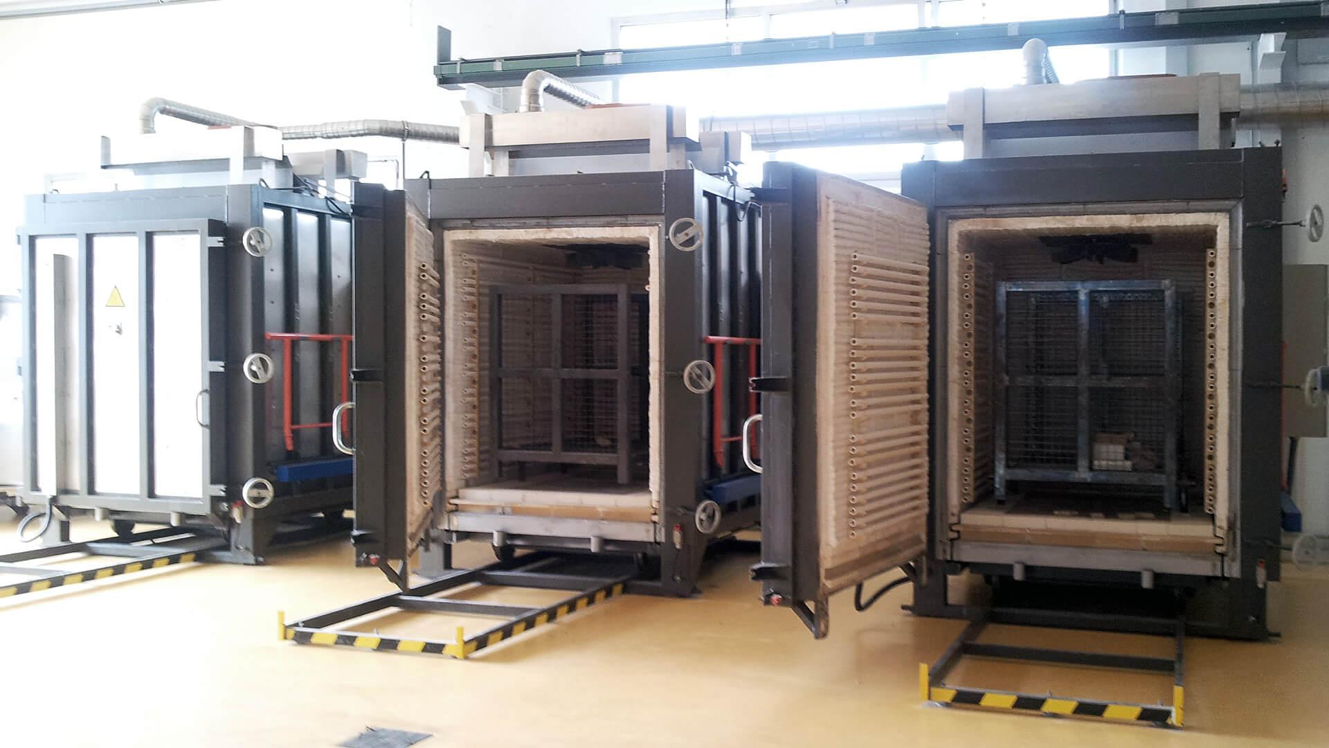 Forno industriale per Forni elettrici per ceramica tecnica | Pagnotta Termomeccanica