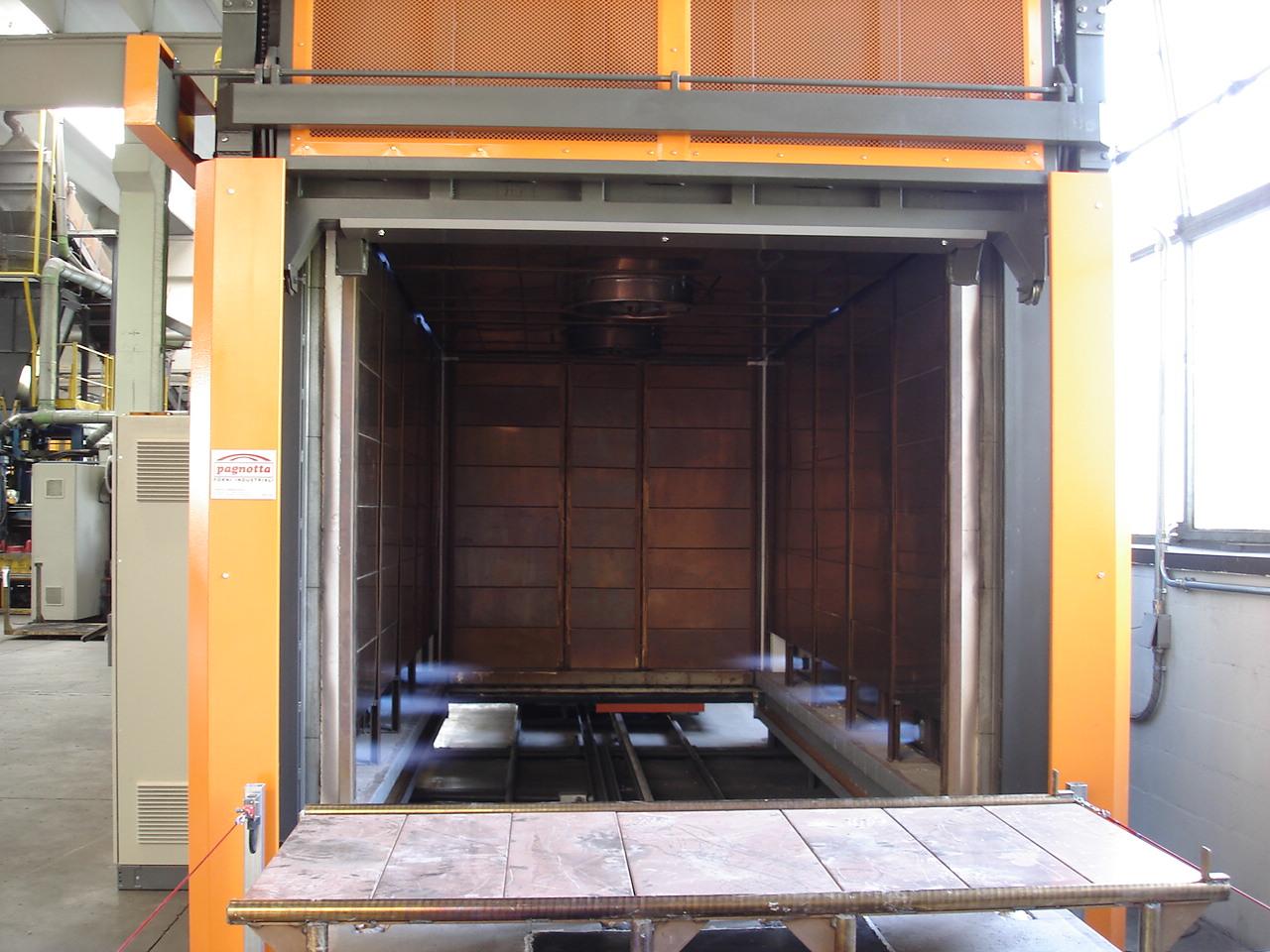 Forno industriale per Forno da sterratura a combustione | Pagnotta Termomeccanica