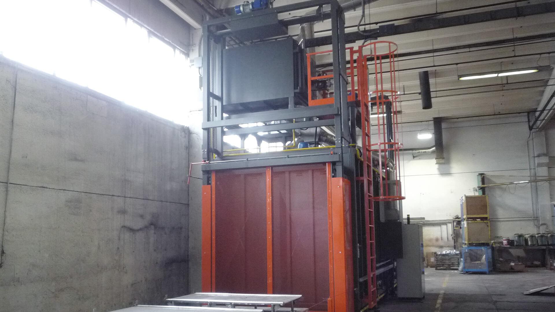 Forno industriale per Forno da sterratura fusioni alluminio | Pagnotta Termomeccanica