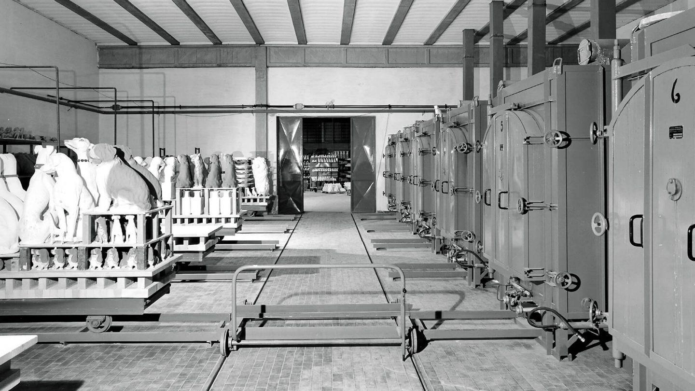 Vicenza foto storica forni per ceramica - Pagnotta Termomeccanica