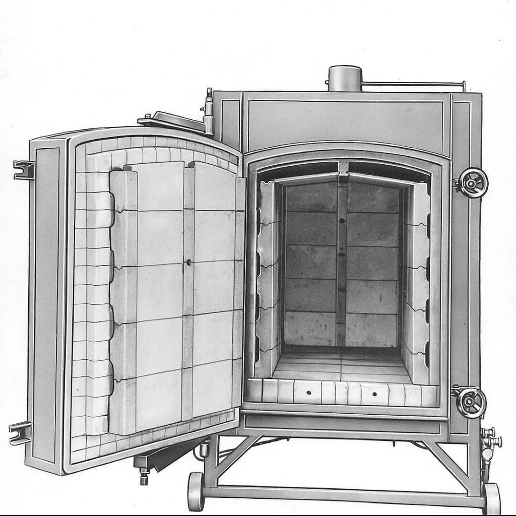 foto vecchio forno ceramica - Pagnotta Termomeccanica