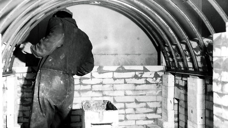 costruzione forno anni '70 - Pagnotta Termomeccanica