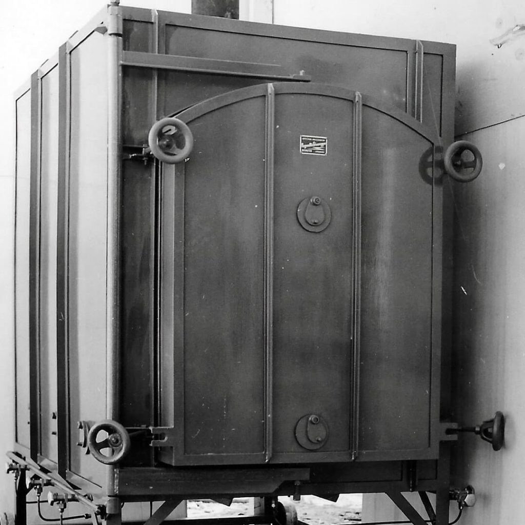 vecchio forno a gas Pagnotta Termomeccanica