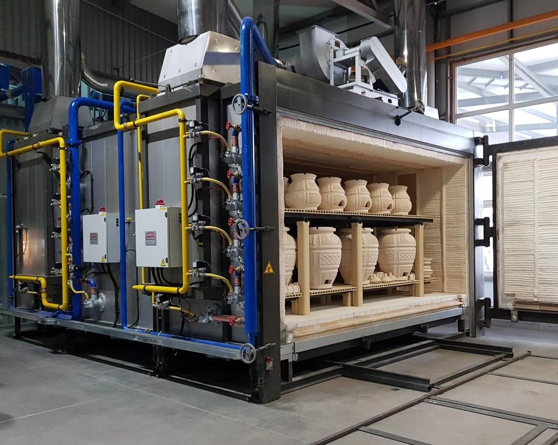 Forno industriale per Forno intermittente a carrelli estraibili | Pagnotta Termomeccanica
